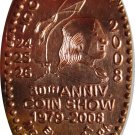 2008 PAN Coin Show Elongated Cent