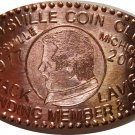 2004 Marysville Michigan Coin Club Elongated Cent
