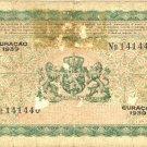 Curacao 10 Gulden 1939 Netherlands Antilles Nederlandse Antillen P231939 Curacao 10 Gulden