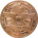 1 Ounce Copper Round, Buffalo 2012