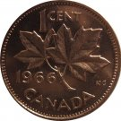 1966 Canadian Cent Doubled Forehead (10)
