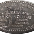2013 MSNS Fall Show Elongated Nickel