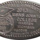 2013 MSNS Fall Show Elongated Nickel