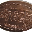2012 TEC Denver Colorado Elongated Cent
