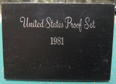 1981 S US Proof Set