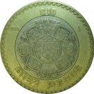 1998 10 Peso KM#616 Bi-Metallic