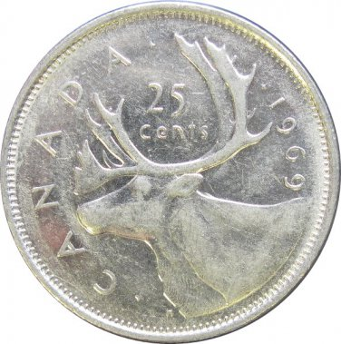 1969 Canadian Quarter