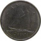 1971 Canadian Dime