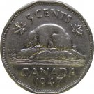 1947 Canadian 5 Cent