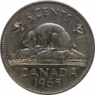 1965 Canadian 5 Cent