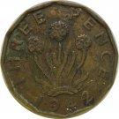 1942 Great Britain 3 Pence #2