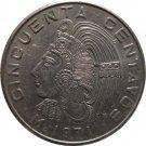 1971 Mexico 50 Centavos