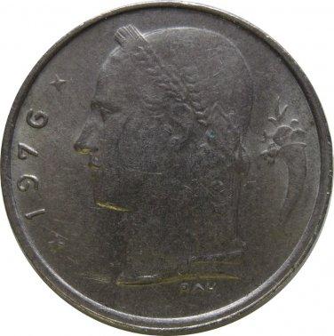 1976 Belguim 1 Franc