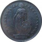 1986 Switzerland 1 Franc