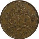 1982 Barbados 5 Cent