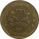 1987 Singapore 1 Dollar
