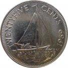 1969 Bahamas 25 Cents #2