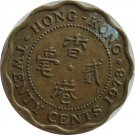 1978 Hong Kong 20 Cents