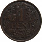 1925 Netherlands 1 Cent