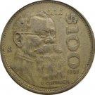 1997 Mexico 100 Pesos