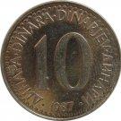 1987 Yugoslavia 10 Dinar