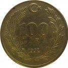 Turkey 1992 11 Lira