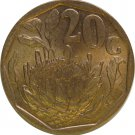 1992 South Africa 20 Cents