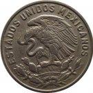 1964 Mexico 50 Centavos