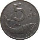 1955R Italy 5 LIRA