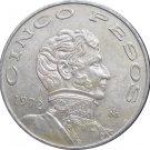 1972 Mexico 5 Peso's