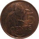 1999 Trinidad 5 Cent