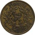 Tunisia 1941 50 Centimes