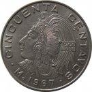 1967 Mexico 50 Centavos