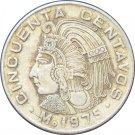 1975 Mexico 50 Centavos