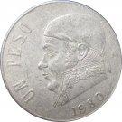 1980 Mexico 1 Peso