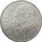 1982 Mexico 1 Peso