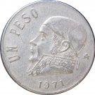1971 Mexico 1 Peso