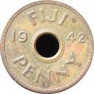 1942S Fiji One Cent #2