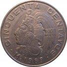 1969 Mexico 50 Centavos