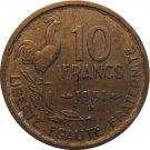 1951 B 10 Franc