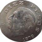 1976 Mexico 10 Peso