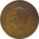 1945 Mexico 5 Centavos #2