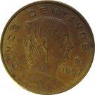 1962 Mexico 5 Centavos
