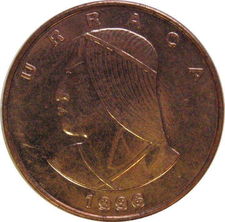 1996 Panama Un Centesimo