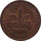1981 G Germany 1 Pfennig
