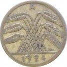1924 A Germany 5 REICHSPFENNIG #2