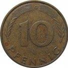1978 G Germany 10 Pfennig