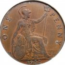 1922 Great Britain One Penny