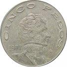 1977 Mexico 5 Peso's