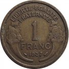 1937 France 1 Franc
